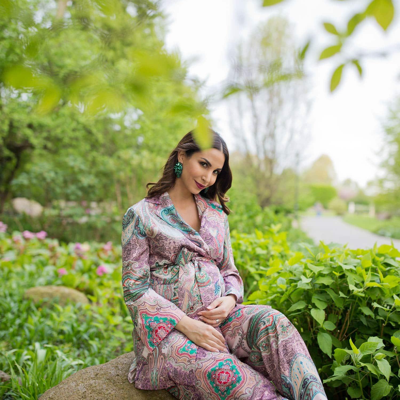 Schwangerschaft Fotos outdoor Sila Sahin